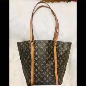 Authentic Louis Vuitton Shopping Sac #3.4a